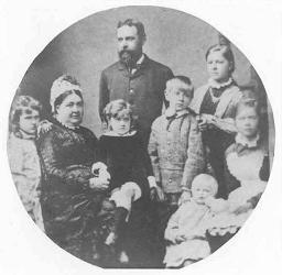 Frederick Henry Shaw, wife and family